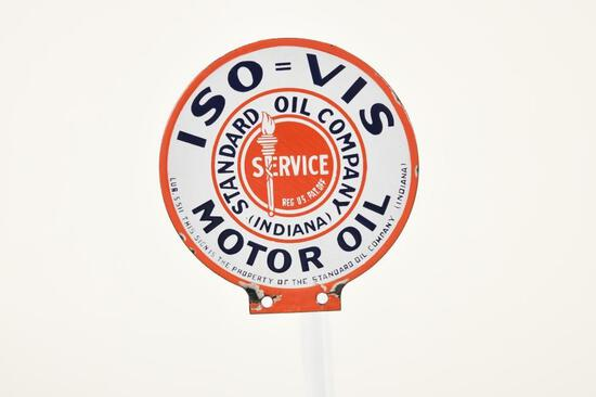 Standard Iso-Vis Motor Oil Paddle Sign