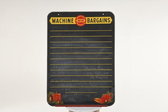 Massey Harris Chalk Board