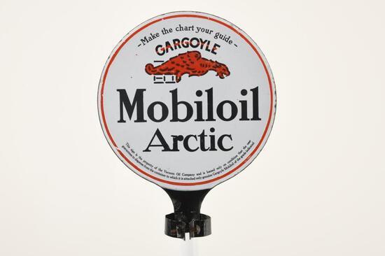 Mobiloil Arctic Oil Paddle Sign