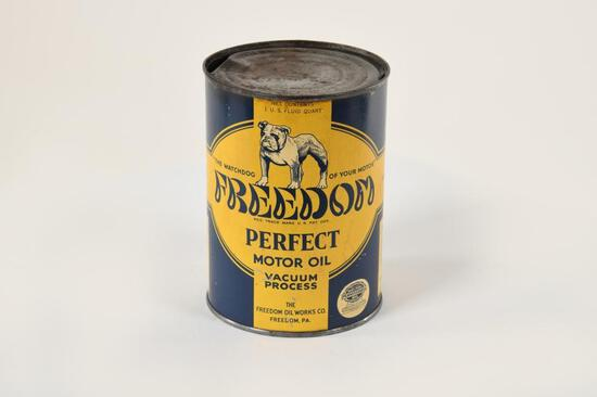Freedom Perfect Motor Oil Quart Can