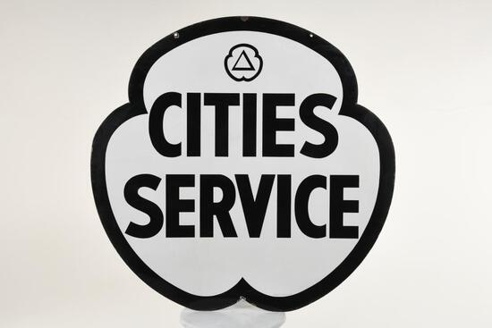 Cities Service Clover Sign