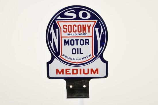 Socony Motor Oil Paddle Sign