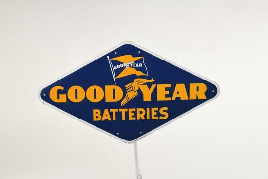 Goodyear Batteries Sign