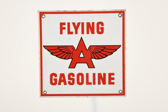 Flying A Gas Pump Plate