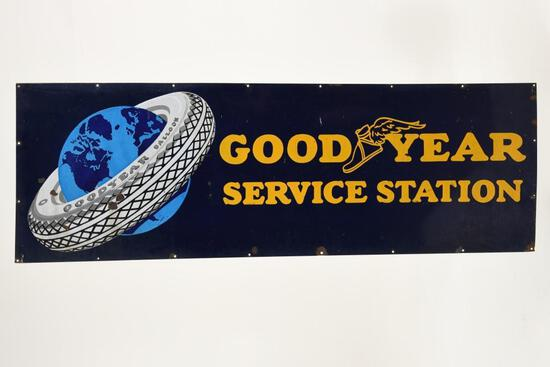 Goodyear Service Station Sign
