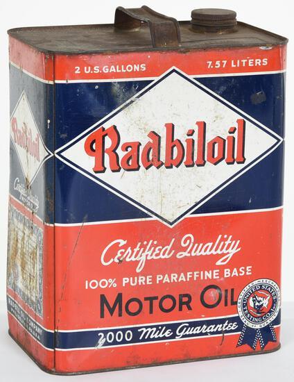 Radbiloil Motor Oil 2 Gallon Can