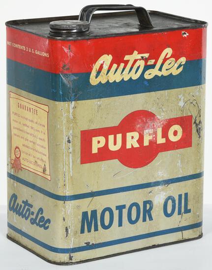 Auto-Lee Purflo motor Oil 2 Gallon Can