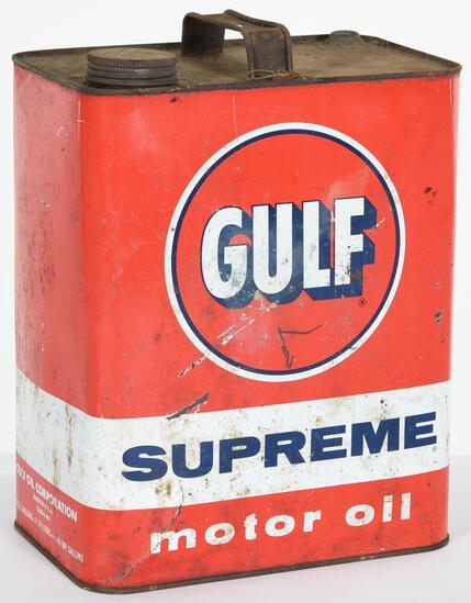 Gulf Supreme Motor Oil 2 Gallon Can