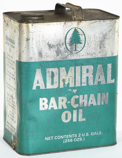 Admiral Bar Chain Oil 2 Gallon Can