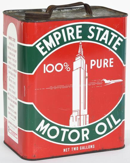 Empire State Motor Oil 2 Gallon Can