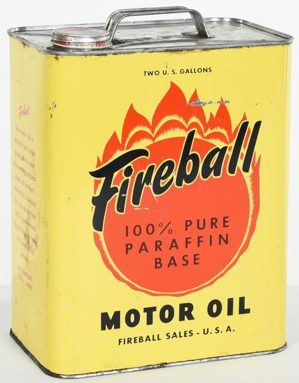 Fireball Motor Oil 2 Gallon Can