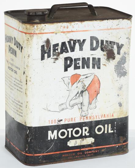 Heavy Duty Penn Motor Oil 2 Gallon Can