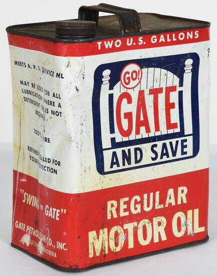 Go! Gate And Save Motor Oil 2 Gallon Can