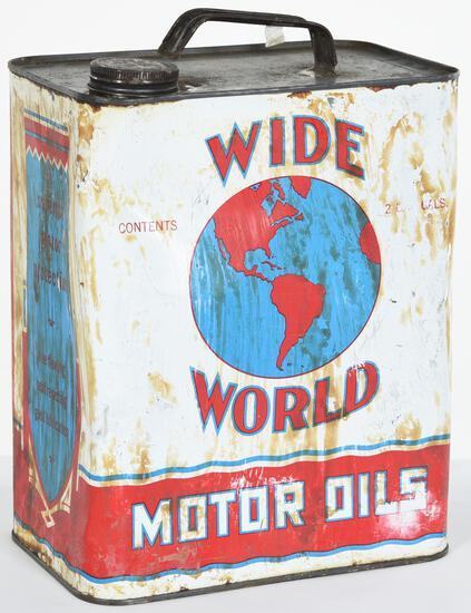Wide World Motor Oil 2 Gallon Can