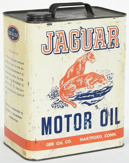 Jaguar Motor Oil 2 Gallon Can