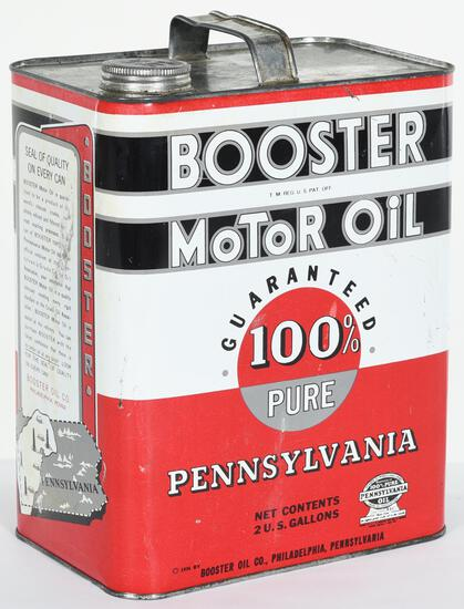 Booster Motor Oil 2 Gallon Can