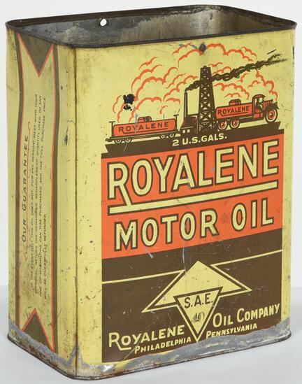 Royalene Motor oil 2 Gallon Can