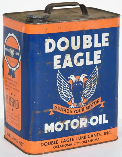 Double Eagle Motor Oil 2 Gallon Can