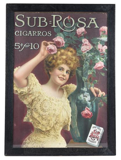 Sub=Rosa Cigarros w/Lady & Roses Print