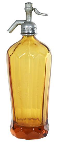 Amber C.C.B. Co. Greensburg Pa Stetzer Water Bottle