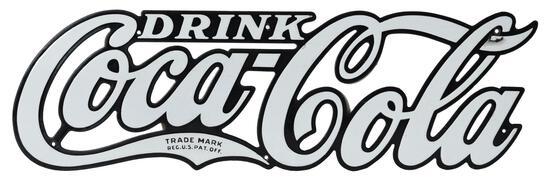 Drink Coca-Cola Diecut Porcelain Letters