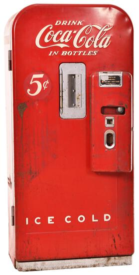 Vendo Upright Coca-Cola Coin-op Vending Machine