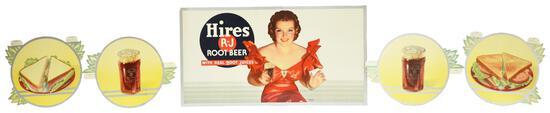 """Hires Root Beer """"Back Bar Festoon"""""""