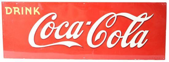 Drink Coca-Cola Metal Sign