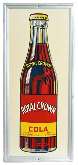 Royal Crown Cola Bottle metal Sign