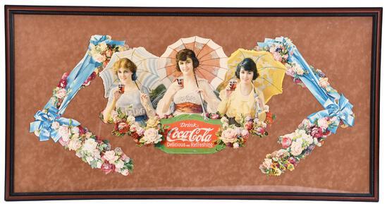 1918 Coca-Cola Umbrella Girls Festoon