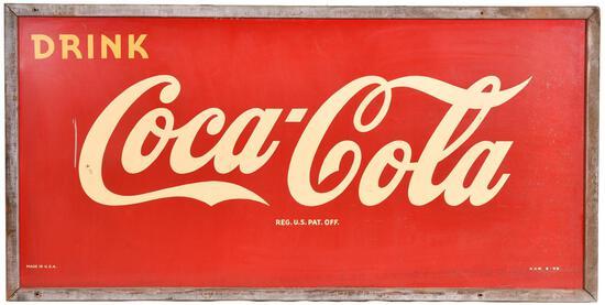 Drink Coca-Cola Large Metal Sign