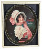 1914 Drink Coca-Cola Serving Tray Betty