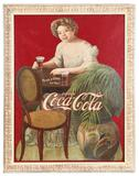 Rare 1909 St. Louis Expo. Coca-Cola Hilda Clark Diecut