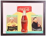 Coca-Cola Cardboard Tri-Fold w/Jackie Cooper