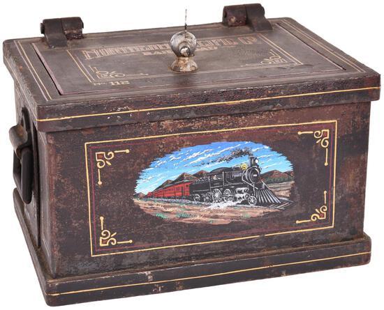 Northern Pacific Railroad #112 Lock Box