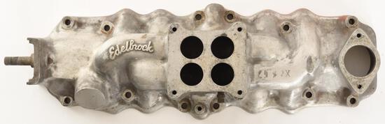 Edelbrock Single 4-Barrel Carb Intake