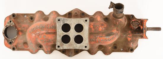 Offenhauser Single 4-Barrel Carb Intake