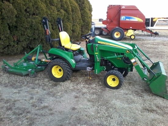 JD Utility tractor