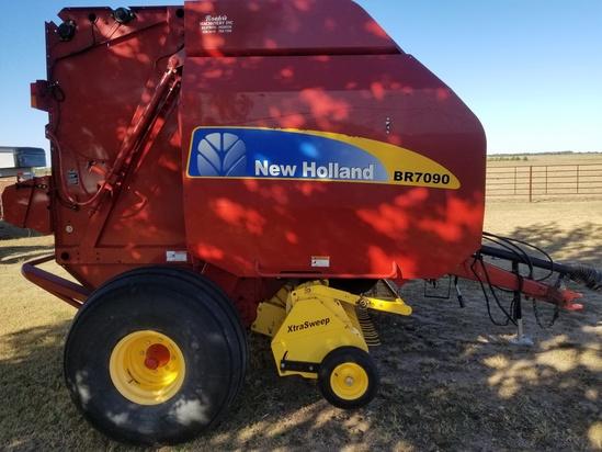 New Holland Baler