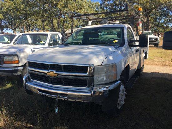 2007 Chevrolet 3500 HD 4x4 Utility Truck