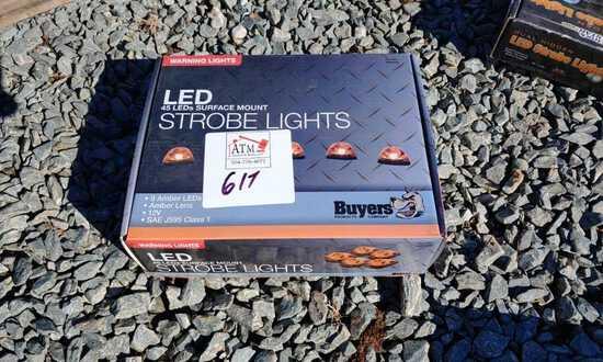 LED warning lights, 5 leds per/light