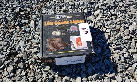 Dual hidden LED strobe light kit, 6 led per/head