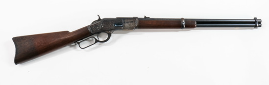 Winchester 1873 Carbine Engraved