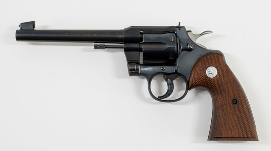 Colt Officers Model Target .22 Revolver