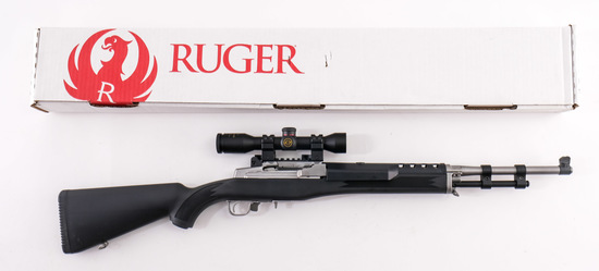 Ruger Stainless Mini 30 7.62x39mm Rifle