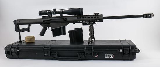 Barrett M107 50 BMG Semi Auto Rifle