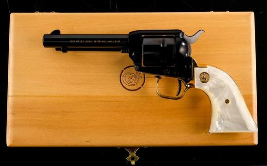 Colt W. VA Centennial Frontier Scout C&R