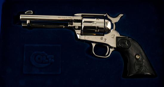 """Colt .38 WCF SAA 4-3/4"""" Revolver"""