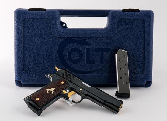 Colt Gov't Model .45acp Custom Shop