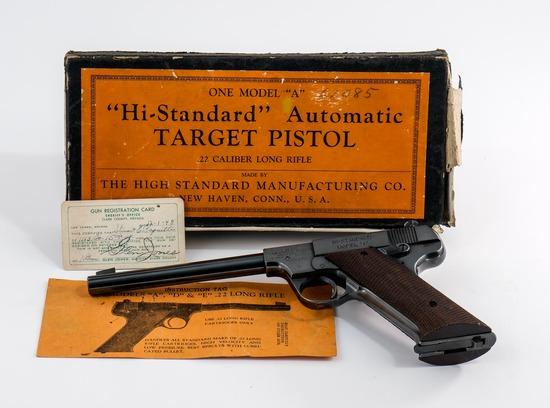 High Standard Model A .22 Pistol